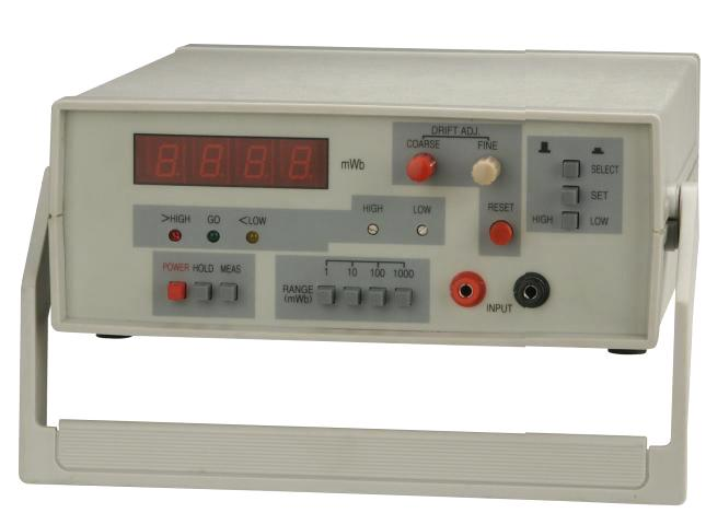digital flux meter, digital magnet meter